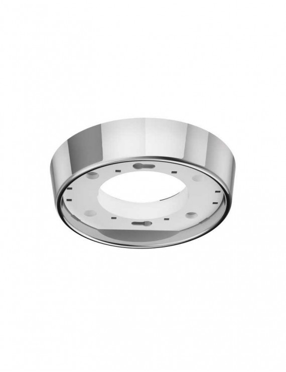 Portafaretto Rotondo Fisso per Lampada GX53