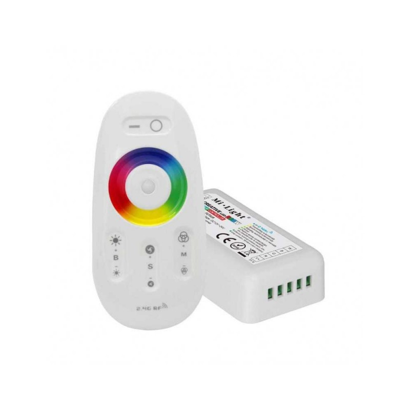 Mi-Light Touch RGBW LED Strip Controller + Remote Control