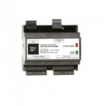 DALCNET ADC1248-4CH - CASAMBI - Multi-Line Push Dimmer