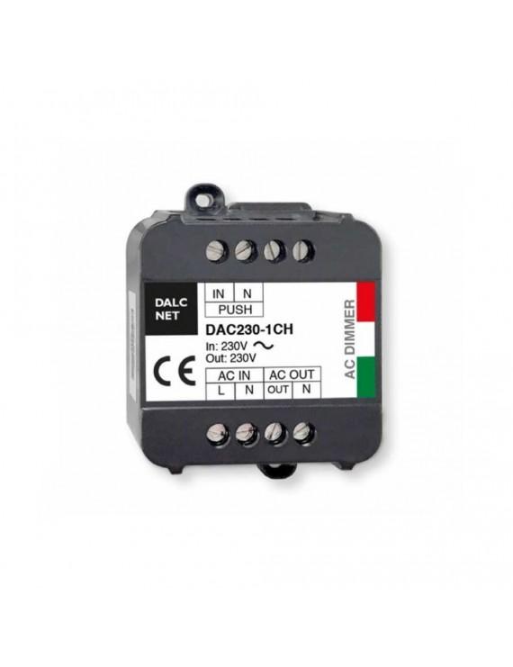 DALCNET DAC230-1CH Dimmer Push 220V