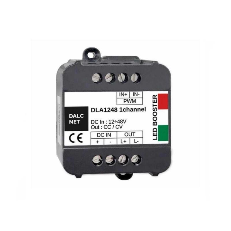DALCNET DLA-1248-1CV-BOOST Amplificatore 1 CH 12-48V