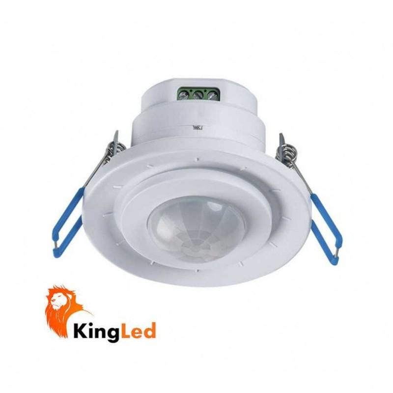 KANLUX Sensore Movimento PIR da Incasso Gimbal Merge ADJ-O 800W