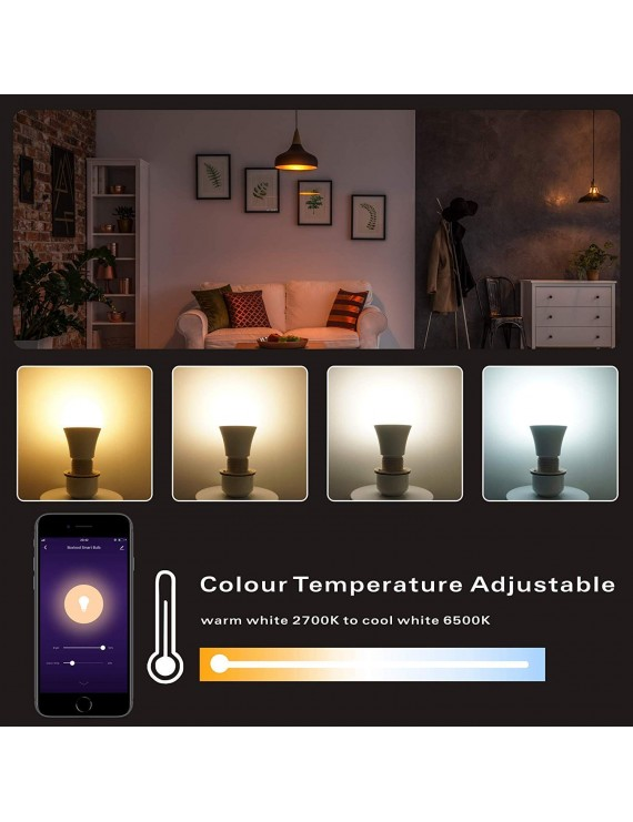 Lampadina Smart Led WiFi A70 E27 11W 1050lm RGB+CCT