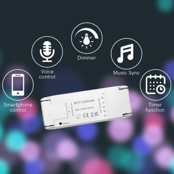 Ricevitore Smart WiFi Universale per Strisce Led 12V 24V 8A