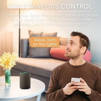Presa Italiana 16A con Lettura Consumo - Smart WiFi compatibile