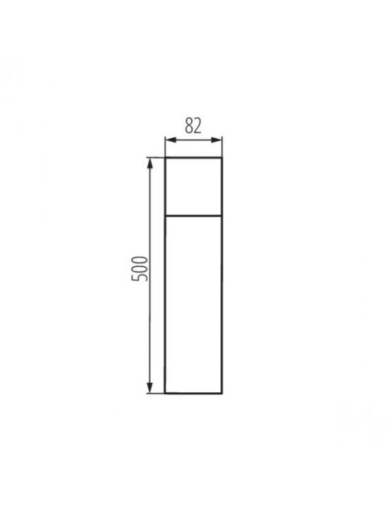 Paletto da Giardino per Lampadina Led E27 220V IP44 – VADRA 50