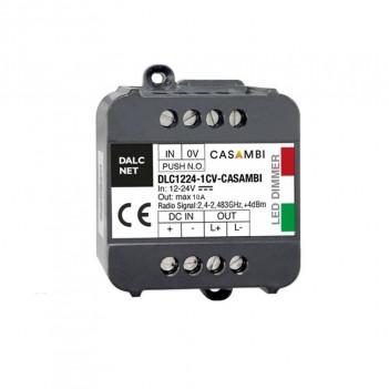DALCNET DLC1224-1CV - CASAMBI - CONTROLLER DIMMER 1CH GESTIONE