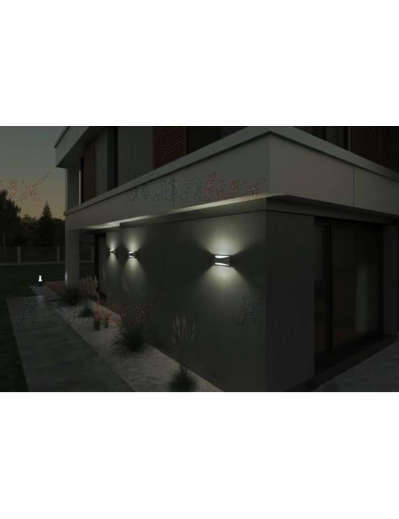 Applique da Muro 8W 375lm 4000K 220V IP54 – BISO Bianco