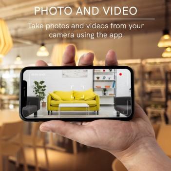 Telecamera HD Fisso Mini – Smart WiFi compatibile con Alexa