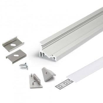 Profilo in Alluminio Angolare 30°/60° Modello CORNER10 -