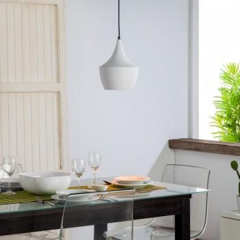 Lampada da Sospensione MERCURY con Attacco E27 – Bianco