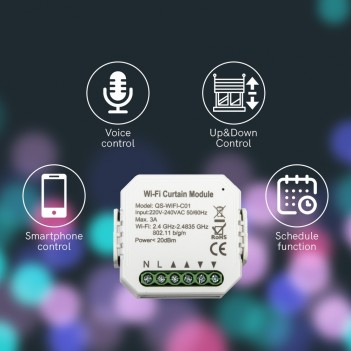 KiWi – WiFi Curtain Module...