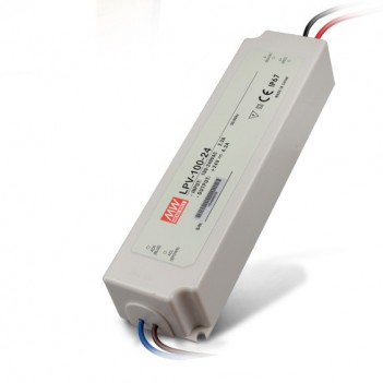 Alimentatore da Esterno 100W per Strip Led 24V Meanwell