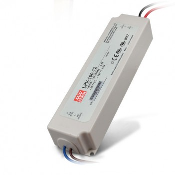 Outdoor Power Supply 100W for 12V Led Strip Meanwell LPV-100-12