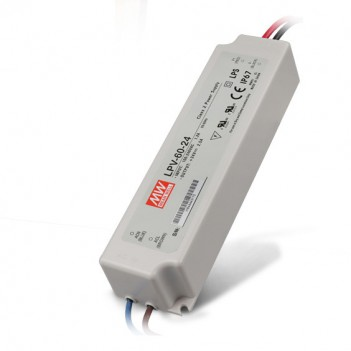 Outdoor Power Supply 60W for 24V Led Strip Meanwell LPV-60-24