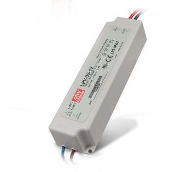 Outdoor Power Supply 35W for 12V Led Strip Meanwell LPV-35-12