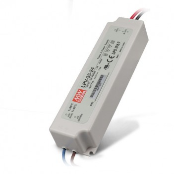 Outdoor Power Supply 35W for 24V Led Strip Meanwell LPV-35-24