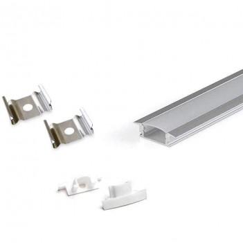 Profilo in Alluminio da Incasso Modello CC-31 - Anodizzato Pro