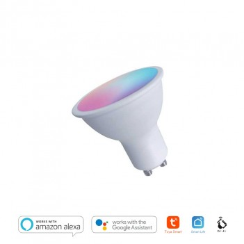 Faretto Led GU10 4,5W 380lm RGB+Warm 2700K – Smart WiFi