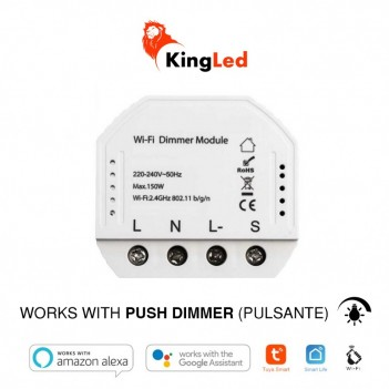 Smart WiFi Dimmer Triac Controller with Push Function