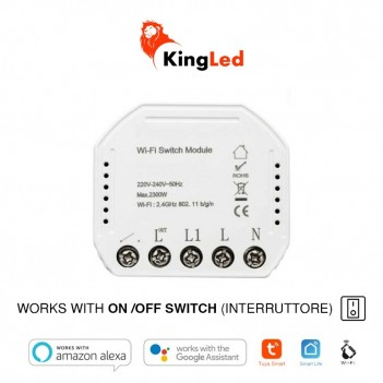 KiWi - Switch WiFi - Interruttore ON / OFF – Smart WiFi