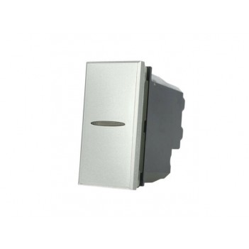 INVERTITORE ASSIALE 1 MODULO 1 POLO 16A SILVER TECH - SERIE LUTE