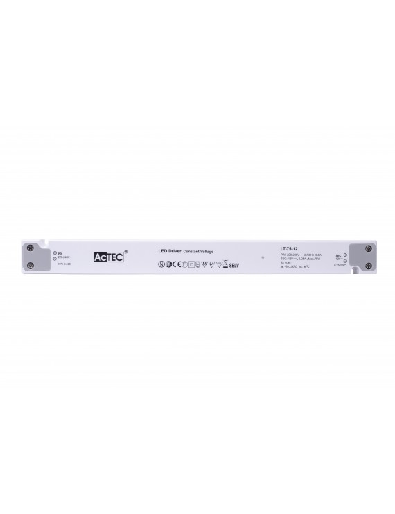 Actec Power Supply LT 75W 12V - Linear Design LT-75-12