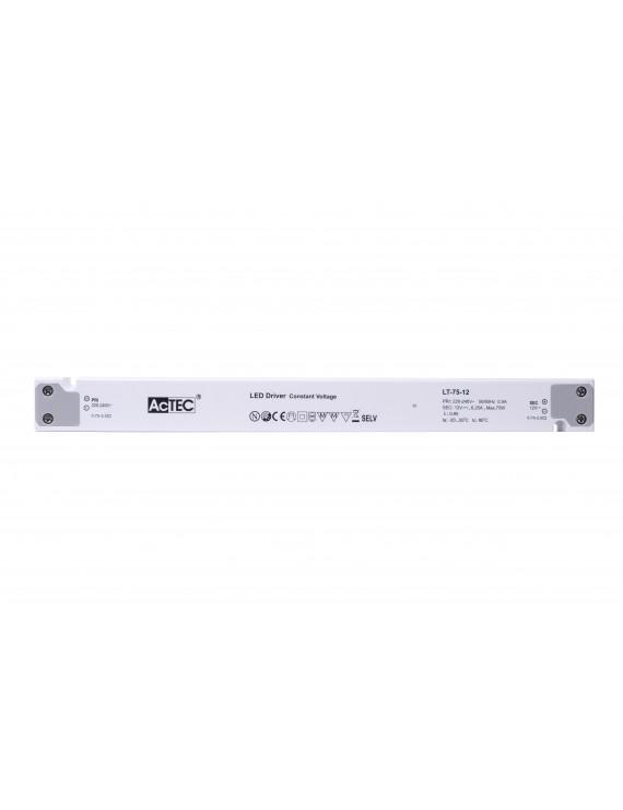 Alimentatore Actec LT 75W 24V - Design Lineare LT-75-24