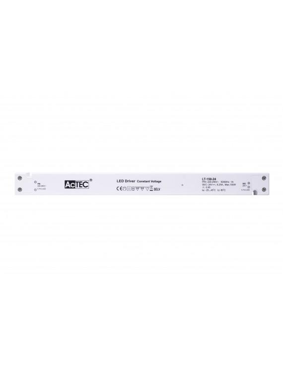 Alimentatore Actec LT 150W 24V - Design Lineare LT-150-24