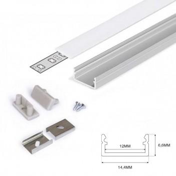 Profilo in Alluminio Modello BEGTON12 - Anodizzato J-S - KingLed