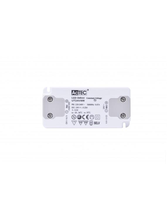 Alimentatore Actec UT 6W 12V - Ultra Fino Per Mobili