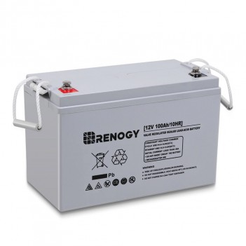 RENOGY BATTERIA AGM DEEP CYCLE 12 VOLT 100AH