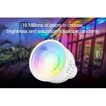Mi-Light Faretto Led GU10 6W RGB+CCT WiFi FUT106