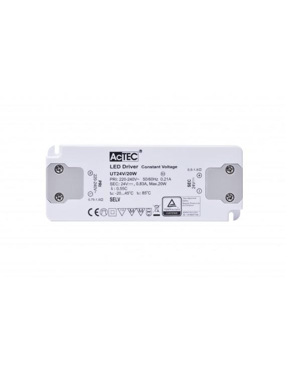 Alimentatore Actec UT 20W 24V - Ultra Fino Per Mobili