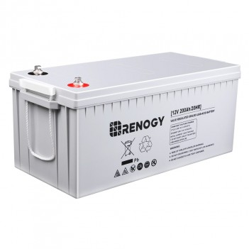 RENOGY BATTERIA AGM DEEP CYCLE 12 VOLT 200AH
