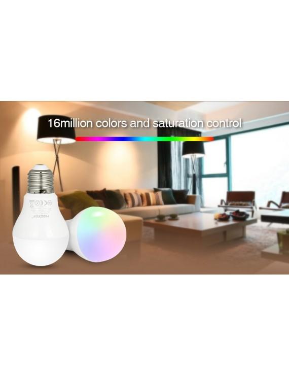 Mi-Light 6WE27 RGB+CCT LED Light Bulb 2.4GHz RF Remote