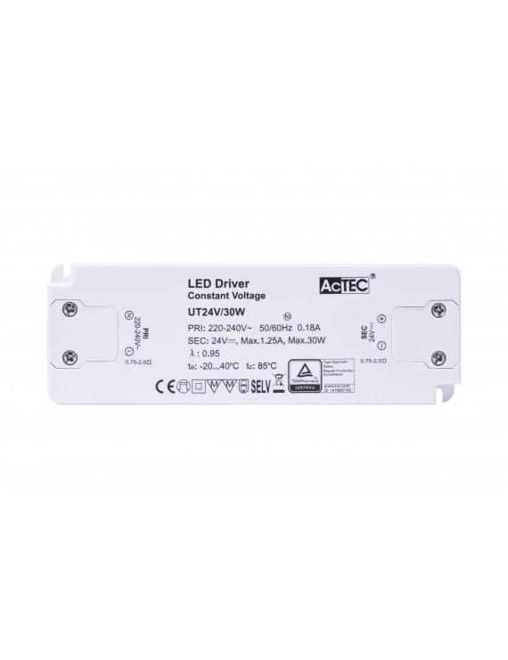 Alimentatore Actec UT 30W 24V - Ultra Fino Per Mobili