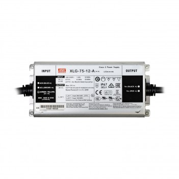 MeanWell Power Supply 75W 12V IP67 XLG-75-12A