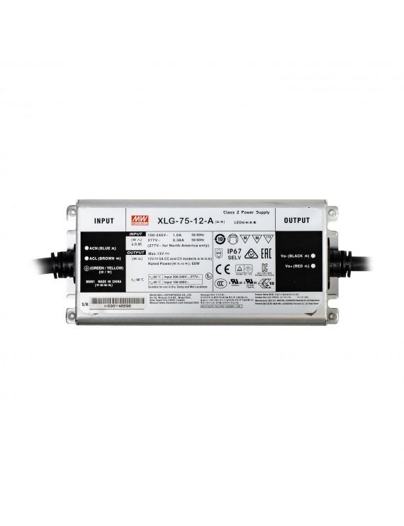 Alimentatore MeanWell 75W 12V IP67 XLG-75-12A