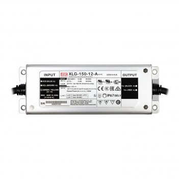 MeanWell Power Supply 150W 12V IP67 XLG-150-12A