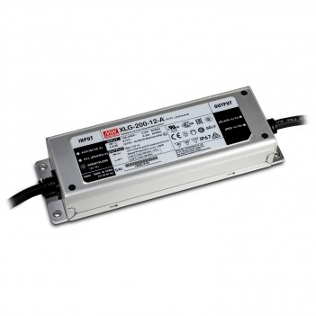 MeanWell Power Supply 200W 12V IP67 XLG-200-12A