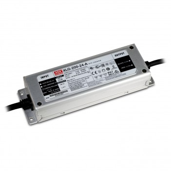 MeanWell Power Supply 200W 24V IP67 XLG-200-24A