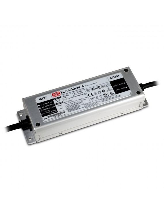 Alimentatore MeanWell 200W 24V IP67 XLG-200-24A