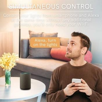 Presa Italiana 10A con Lettura Consumo - Smart WiFi Compatibile