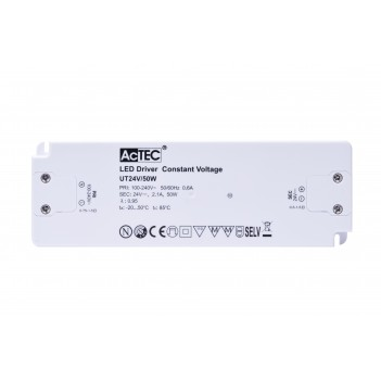 Actec Power Supply UT 50W 24V - Ultra Thin for Furniture