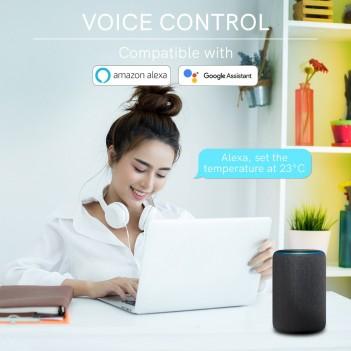 Cronotermostato Digitale WiFi - Compatibile con Alexa, Google e
