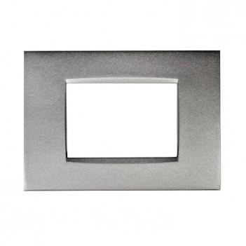 Placca Metallo 3P Antracite...