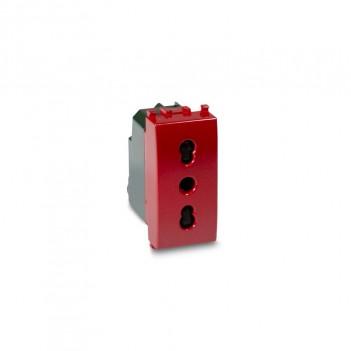 Presa Bivalente dedicato Emergenza 1 Modulo T2 Compatibile