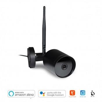 Telecamera WiFi Bullet 4S da Esterno IP65 - Compatibile con Alexa, Google e Smartphone