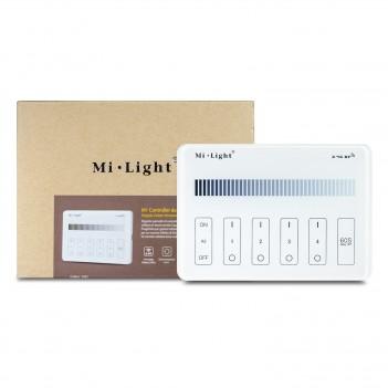 MiBoxer Mi-Light Telecomando da Muro WiFi Dimmer 4 Zone Full Touch M1